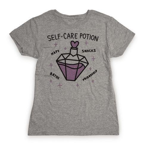 Self-Care Potion Womens T-Shirt