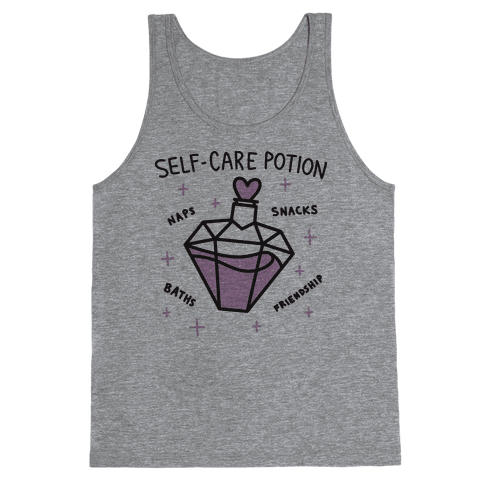 Self-Care Potion Tank Top