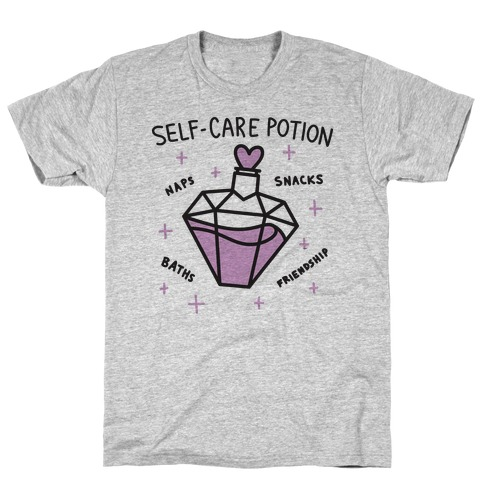 Self-Care Potion T-Shirt