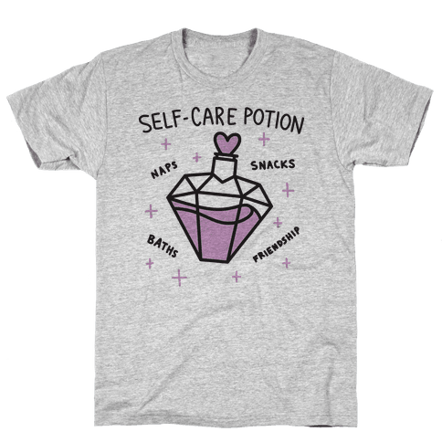 Self-Care Potion Mens T-Shirt