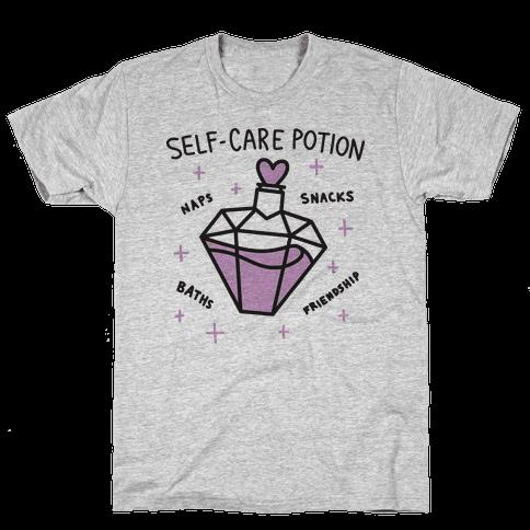 Self-Care Potion Mens T-Shirt