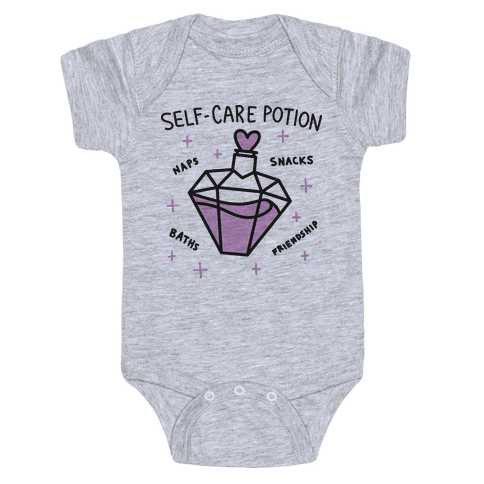 Self-Care Potion Baby Onesy