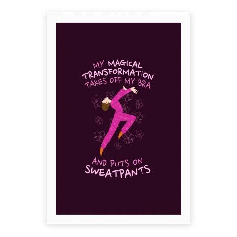 Magical Sweatpants Transformation Poster