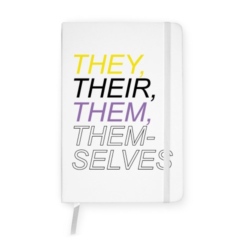 They Their Them Themselves Notebook