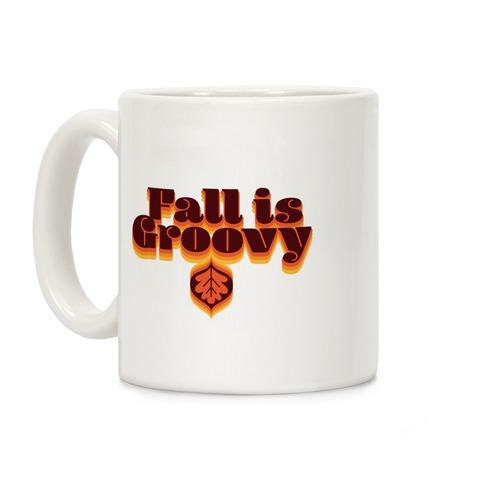 Fall Is Groovy Coffee Mug