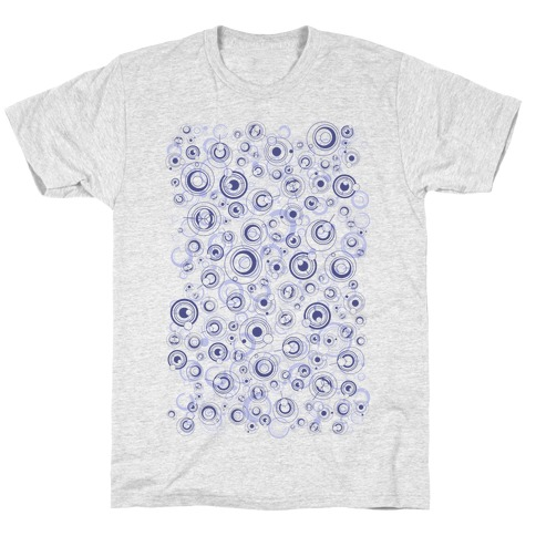 Gallifreyan Text Pattern T-Shirt
