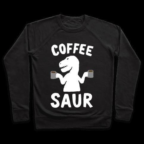 Coffeesaur Dinosaur Pullover