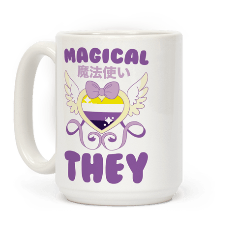 Magical They - Non-binary Pride Coffee Mug