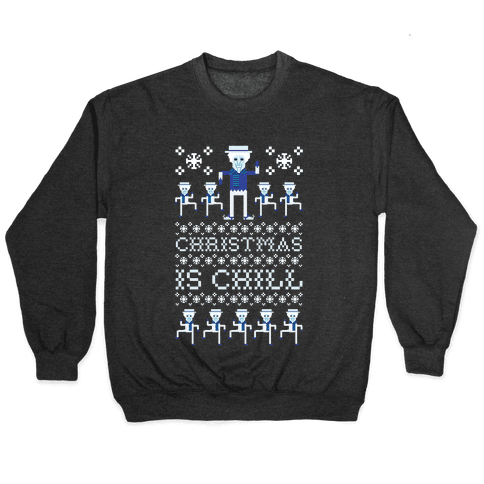 Christmas Is Chill Snow Miser Pullover