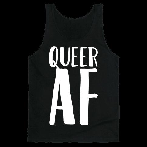Queer AF Tank Top