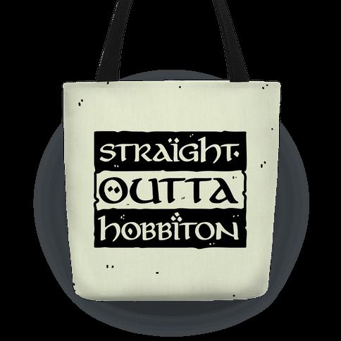 Straight Outta Hobbiton Tote
