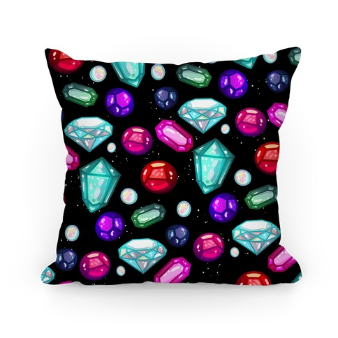 Gemstones Pattern Pillow