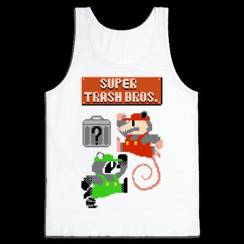 Super Trash Bros Tank Top