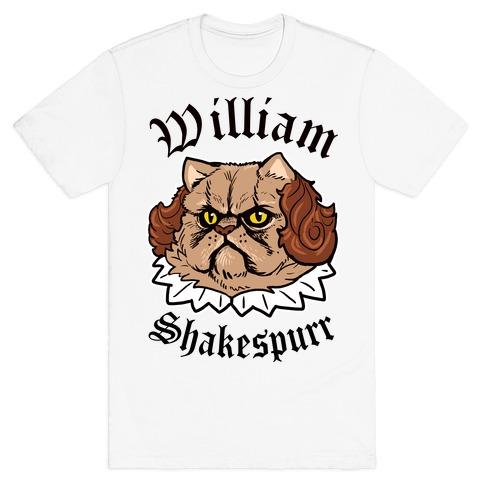 William Shakespurr T-Shirt