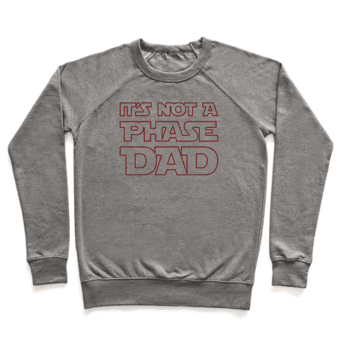 It's Not A Phase Dad Parody Pullover