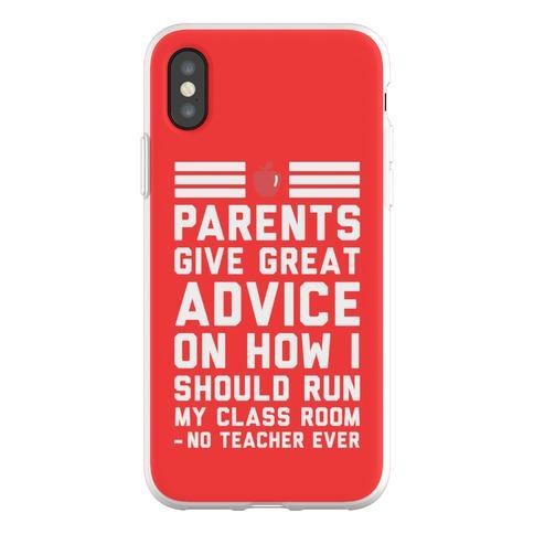 Parents Give Great Advice Phone Flexi-Case