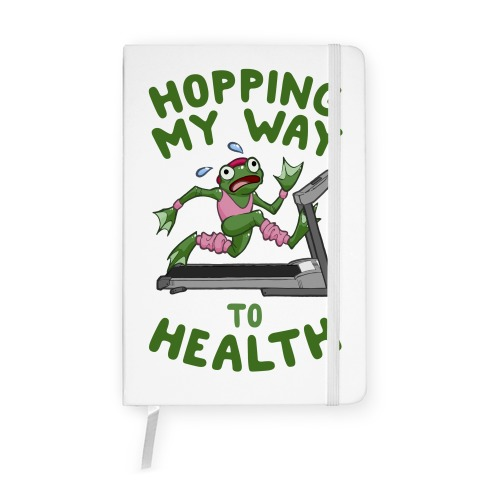 Hopping My Way To Health Notebook