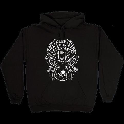 Keep Your Deerstance Hooded Sweatshirt