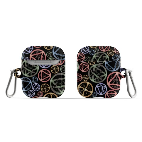Witch's Elements Pattern AirPod Case