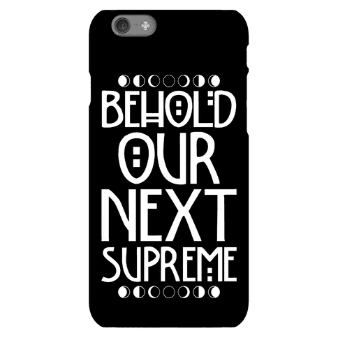Behold Our Next Supreme Phone Case