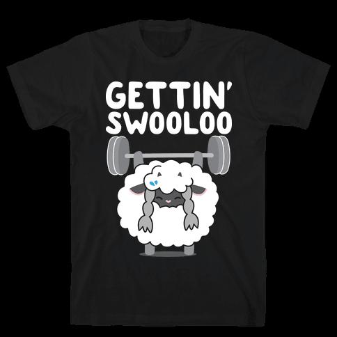 Gettin' Swooloo (Swole Wooloo) Mens/Unisex T-Shirt