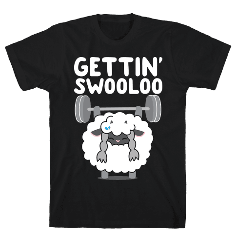 Gettin' Swooloo (Swole Wooloo) Mens/Unisex T-Shirt