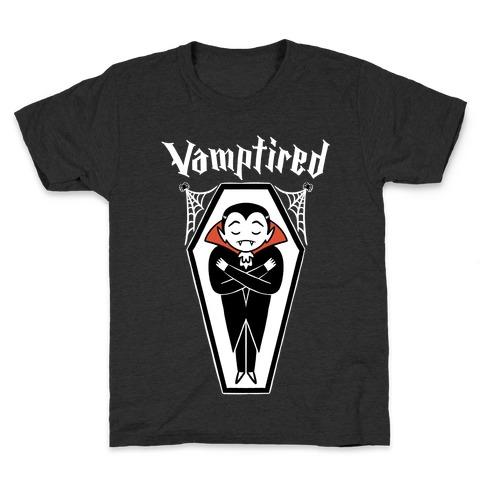 Vamptired Tired Vampire Kids T-Shirt