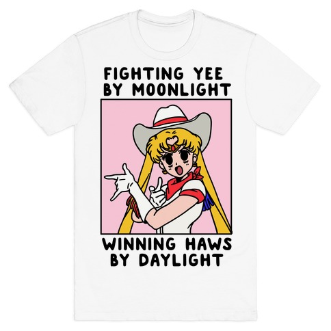 Fighting Yee By Moonlight Winning Haws By Daylight T-Shirt