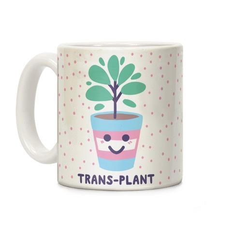 Trans Plant Coffee Mug