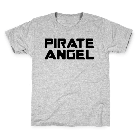 Pirate Angel Parody  Kids T-Shirt