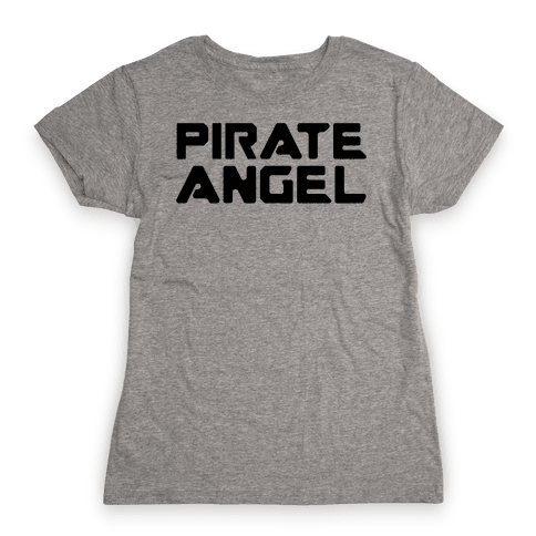 Pirate Angel Parody  Womens T-Shirt