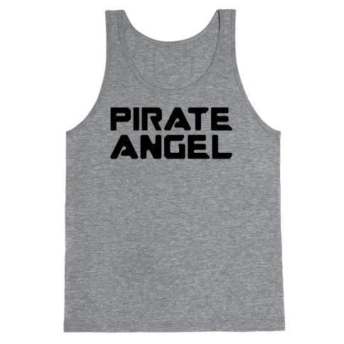 Pirate Angel Parody  Tank Top