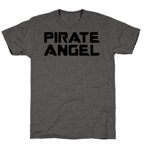 Pirate Angel Parody  Mens T-Shirt