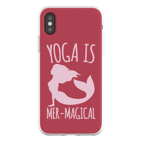 Yoga Is Mer-Magical Phone Flexi-Case