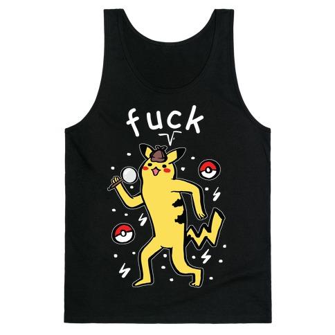 F*** Pikachu Parody Tank Top
