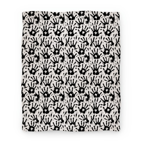 BT Handprints Pattern Blanket
