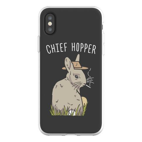 Chief Hopper Parody Phone Flexi-Case