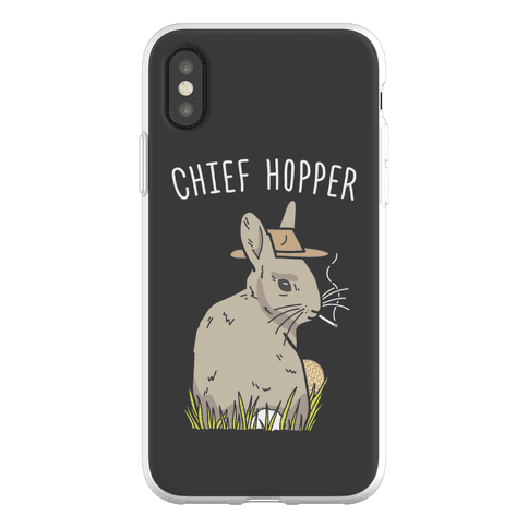 Chief Hopper Parody Phone Flexi-Case