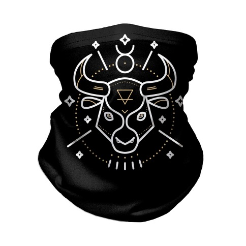 Astrology Taurus Bull Neck Gaiter