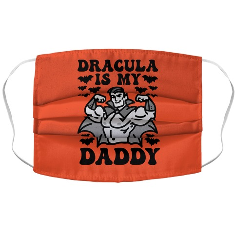 Dracula Is My Daddy Accordion Face Mask