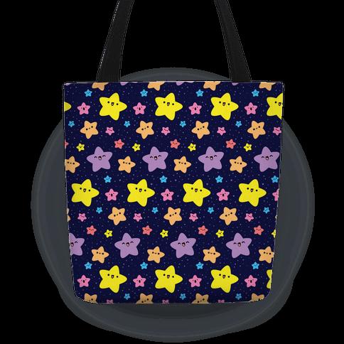 Cute Stars Pattern Tote