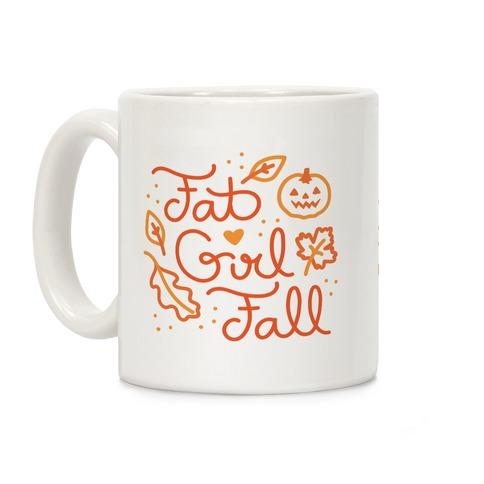 Fat Girl Fall Coffee Mug