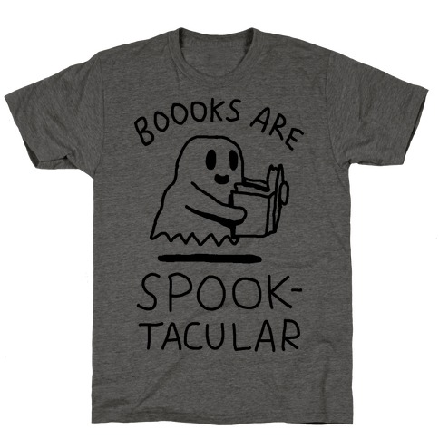 Boooks Are Spooktacular Ghost T-Shirt