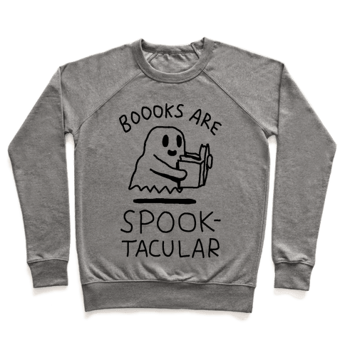 Boooks Are Spooktacular Ghost Pullover