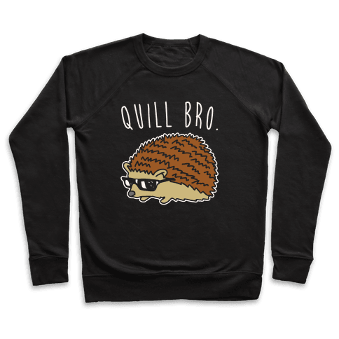 Quill Bro White Print Pullover