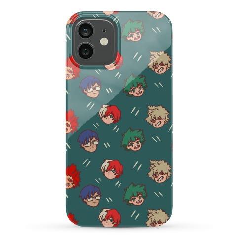 My Hero Academia Pattern Phone Case