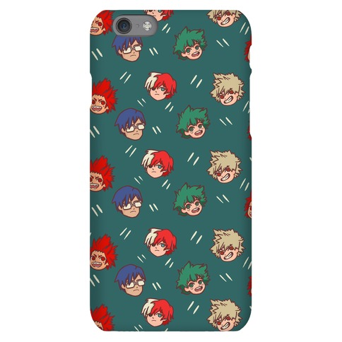 My Hero Academia Pattern Phone Case