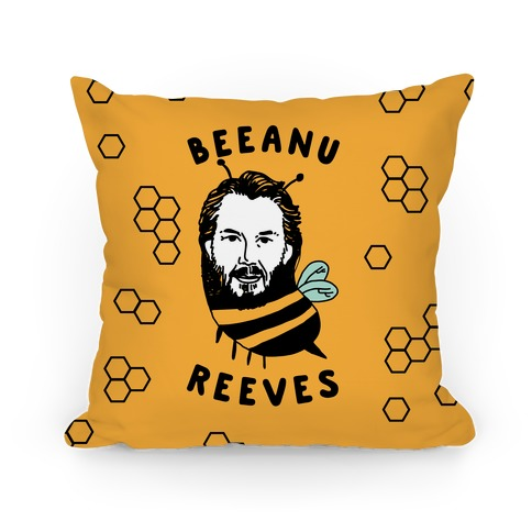 Beeanu Reeves Pillow