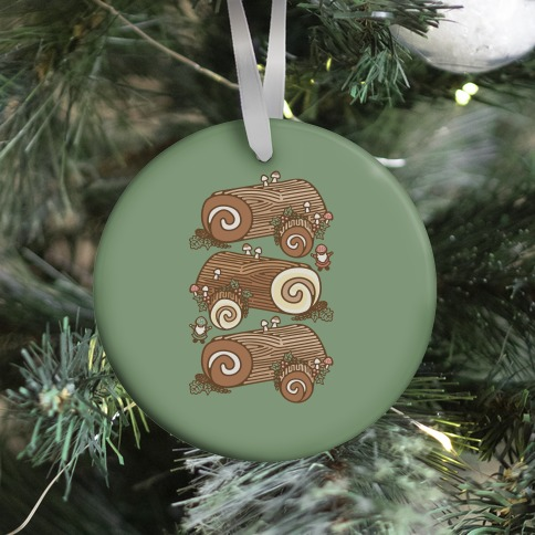 Holiday Yule Logs Ornament