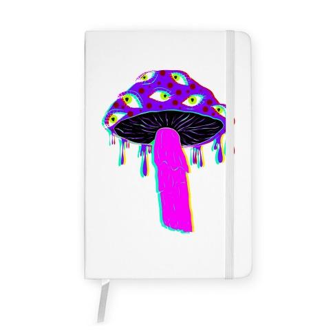 Shroom Trip  Notebook